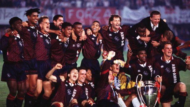 El Ajax campeón de Europa de 1995