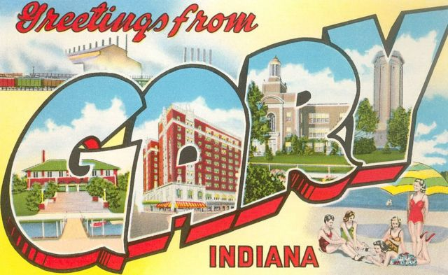 A postcard from Gary, Indiana