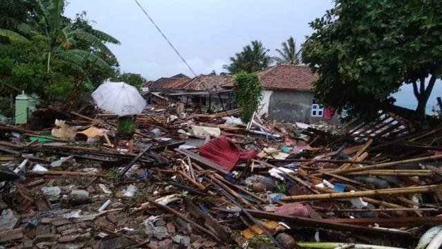 Way Muli setelah diterjang tsunami