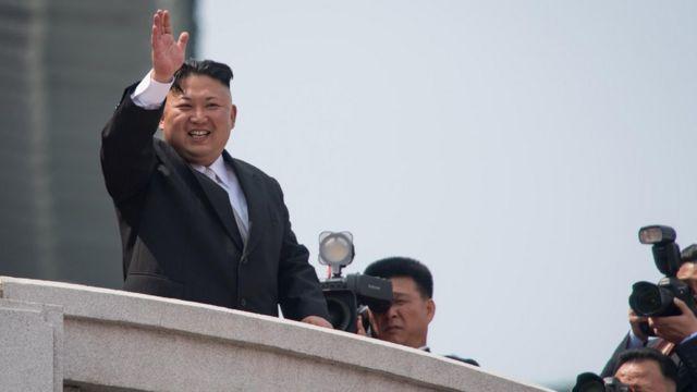 الزعيم كيم جونغ أون