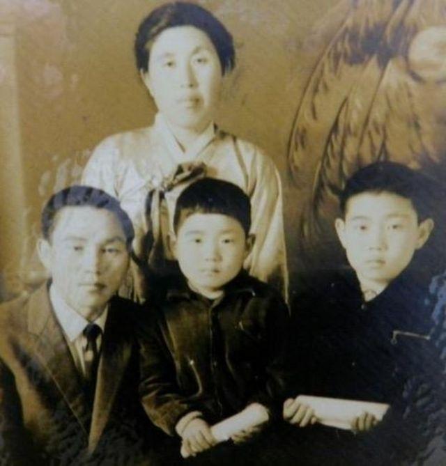 किमची 5 यांचं कुटुंब