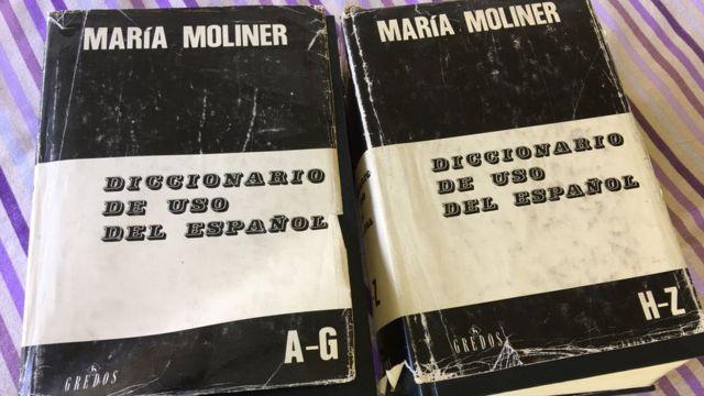 Diccionario de uso del español de María Moliner.