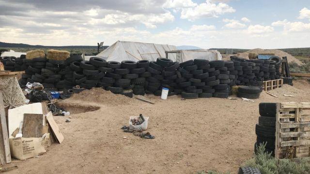 Табір у Нью-Мексико