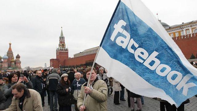 protesta anti-Putin en Moscú en 2012