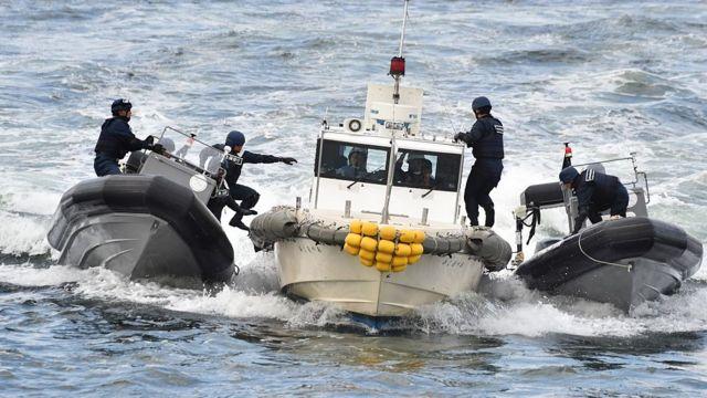 Diễn tập của cảnh sát biển Nhật Bản và Philippines năm 2016