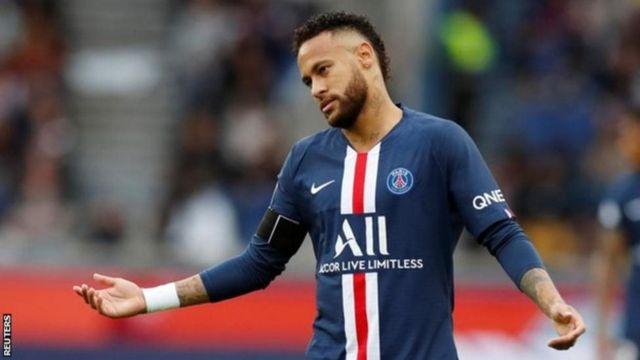 Barcelona itajaribu kusaini tena mkataba na mshambuliaji wa Paris St-Germain na Brazil Neymar
