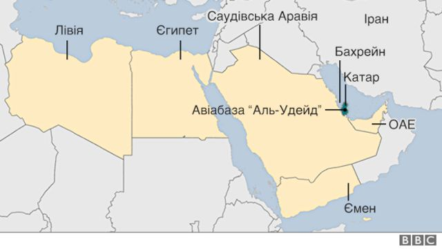 Конфлікт на мапі регіону