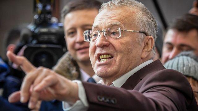 Vladimir Zhirinovsky, 16 Jan 17