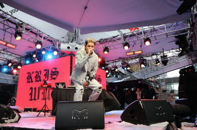 吳亦凡在超級碗前一天官方活動登台表演,受到網民的關注甚至超過比賽