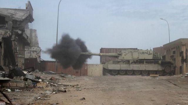 लीबिया में लड़ाई