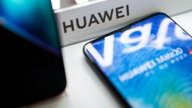 Un teléfono de Huawei.