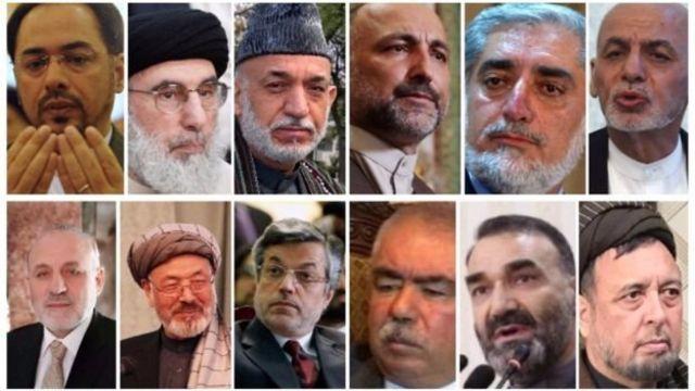 از این چهرهها به عنوان مهمترین بازیگران انتخابات ریاست جمهوری افغانستان نام برده میشود