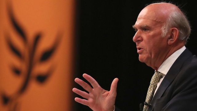 Lib Dems 'on mission from protest back to power', Vince Cable to say