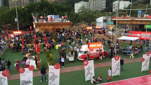 """""""Baixo Suíça"""", na Lagoa, tem maior número de visitantes até agora, com atrações para famílias com crianças"""