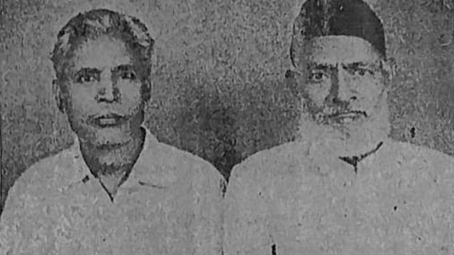 ماسٹر افضال حسین (بائیں)، ماسٹر الطاف حسین (دائیں)