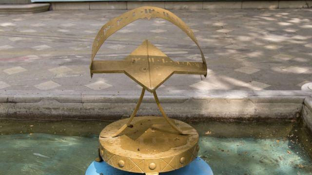 تصویری از موزه زمان تهران