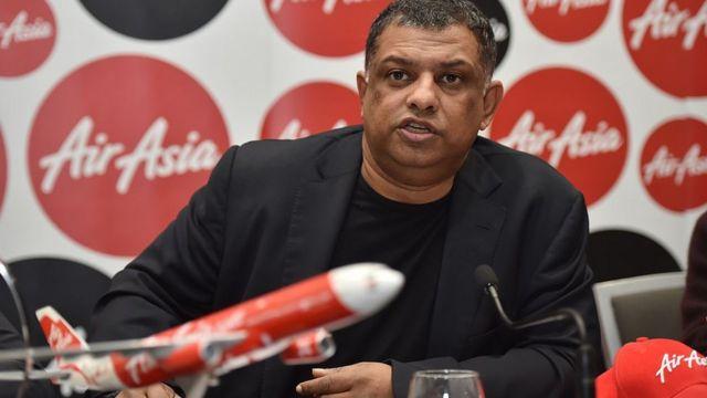 亞洲航空(AirAsia)總裁托尼·費爾南德斯(Tony Fernandes)