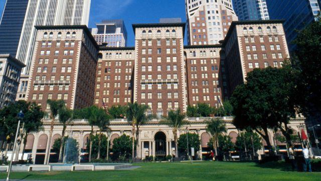 El hotel Biltmore de Los Ángeles, California, EE.UU.