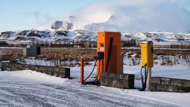 Мини АЗС в Исландии