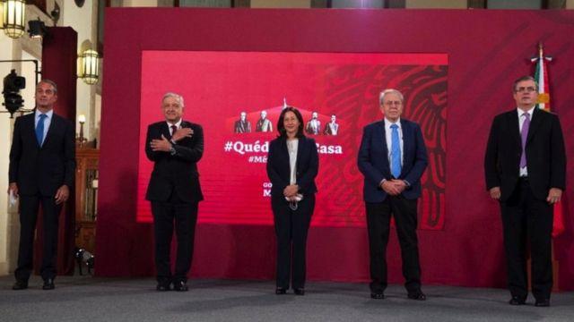 Presentación del acuerdo para producir la vacuna en México