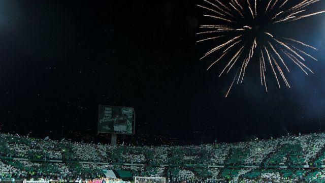 Afición del Atlético Nacional