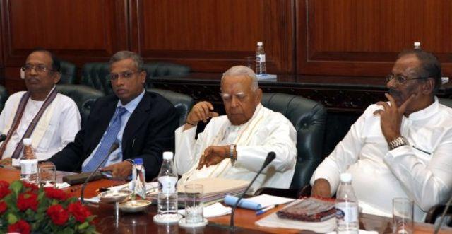 தமிழ் தேசியக் கூட்டமைப்புத் தலைவர்கள்.