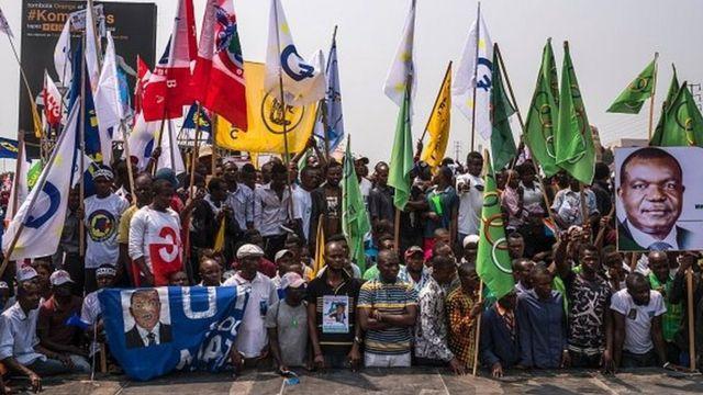 Etienne Tshisekedi avait mobilisé de nombreux partis d'opposition contre le maintien de Joseph Kabila au pouvoir au-delà de 2016.