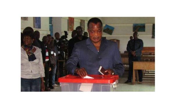 Perezida Denis Sassou Ngweso yitoje ubwa 3