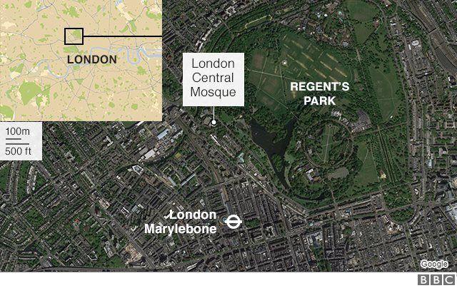 Insiden penikaman di Central Mosque