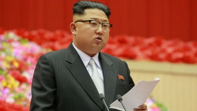 زعيم كوريا الشمالية كيم يونغ أون