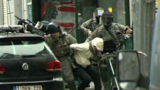 Arrest of Salah Abdeslam