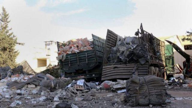 सीरिया में विद्रोहियों पर सरकार का हमला