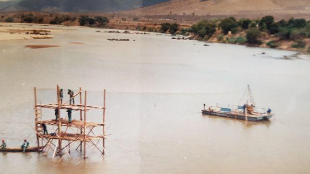 Construção da ponte