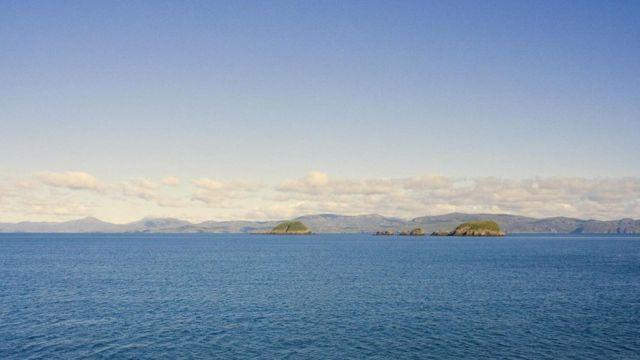 المياه الزرقاء في جزر شانت