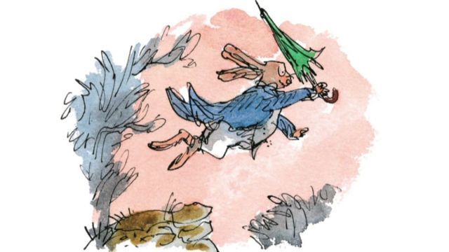 Quentin Blake illustration