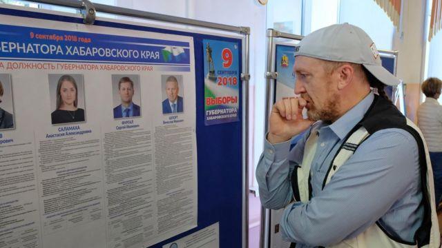 Выборы в Хабаровске