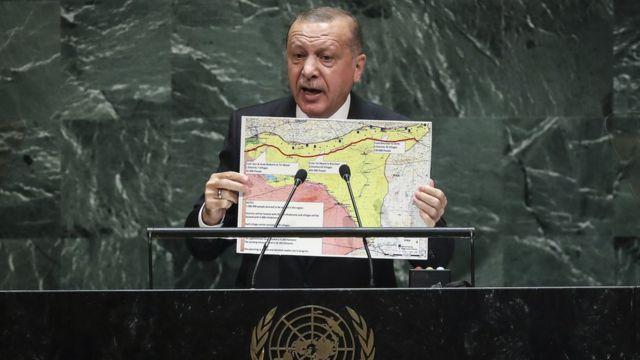 Выступление Эрдогана в ООН
