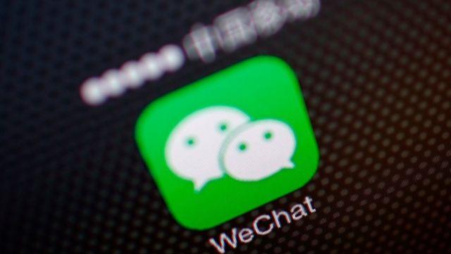 Logotipo de WeChat