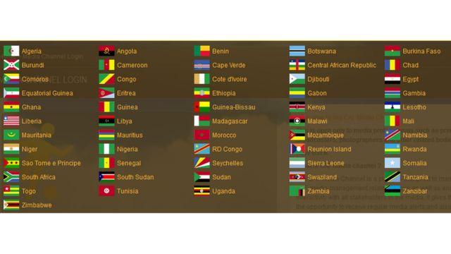 Les équipes affiliées à la CAF