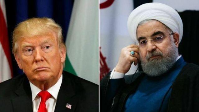 АКШнын президенти Трамп менен Ирандын президенти Рухани