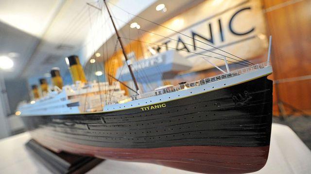 """макет """"Титаніка"""""""