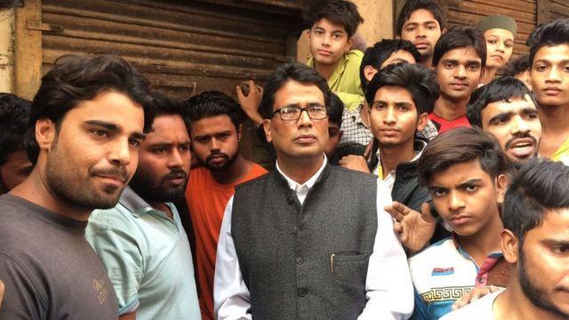 स्थानीय नागरिक और कांग्रेस पार्टी के प्रदेश उपाध्यक्ष अकरम अंसारी