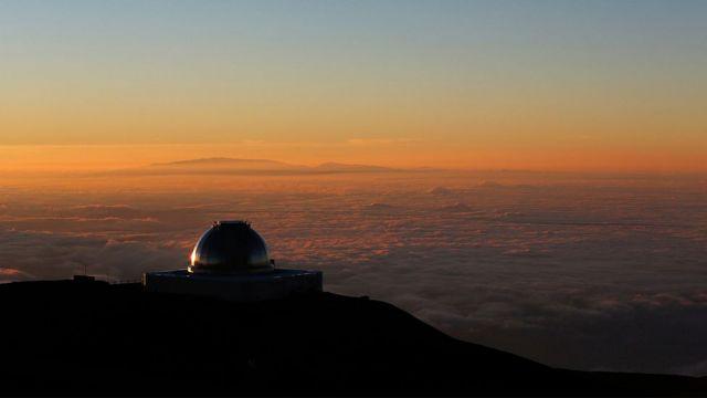Telescópio Pan-STARRS no Havaí