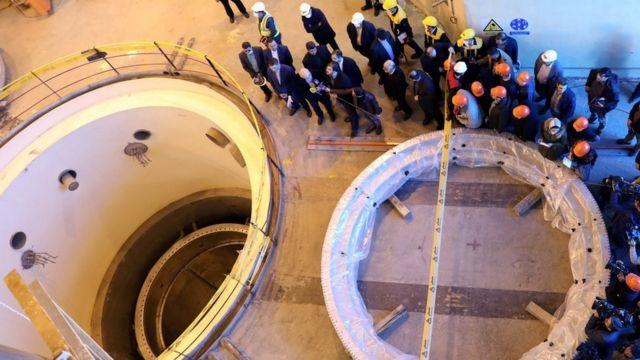 Ядерная электростанция в Иране
