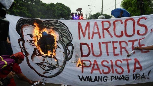 Filipina, Manila, Duterte, Marcos