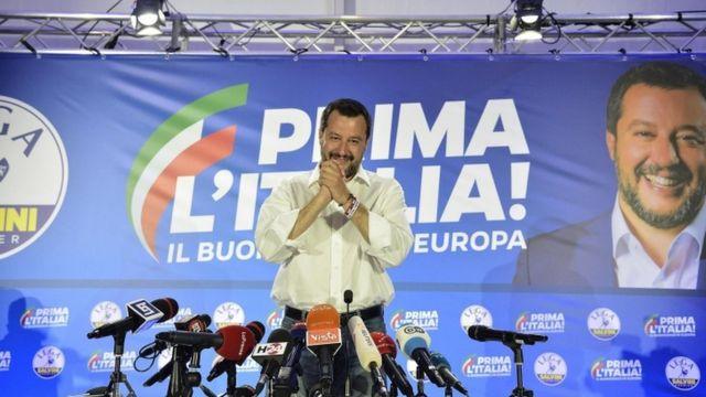 Matteo Salvini, leader of League Party