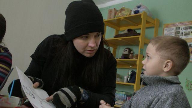 Олена Розвадовська у Майорську
