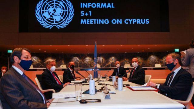 Cenevre'de 27-29 Nisan günlerinde Kıbrıs görüşmeleri.
