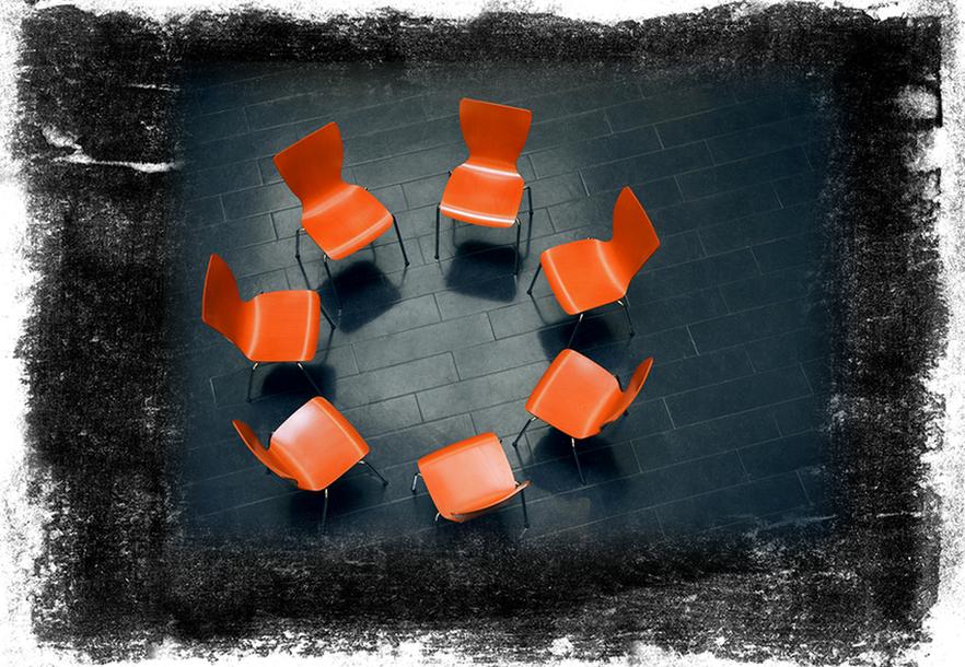 Cadeiras em uma sala