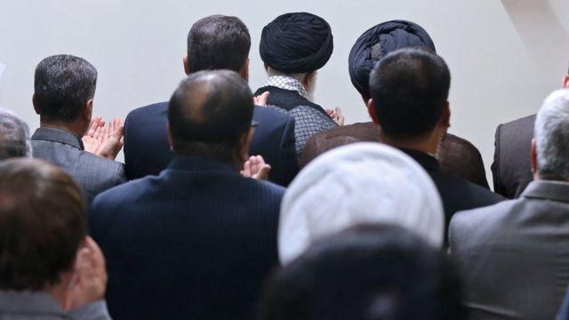 دیدار رهبر ایران با شماری از نیروهای وزارت اطلاعات در ۱۹ مرداد ۱۳۹۵